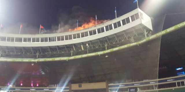 incendio estadio quisqueya